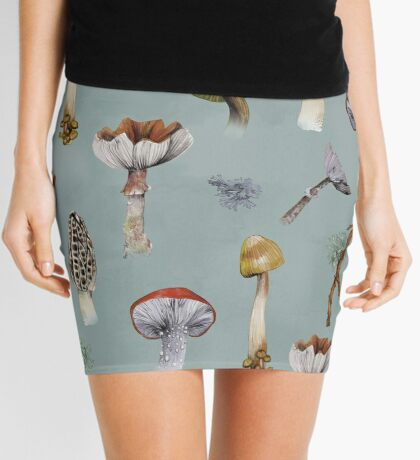 Mushroom Forest Collecting Party Mini Skirt