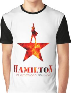 Hamilton Musical Quote Graphic T-Shirt