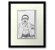 Pain & Narcosis Framed Print