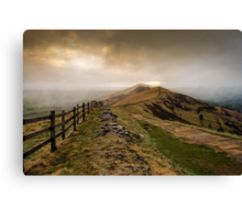 Path from Mam Tor Canvas Print