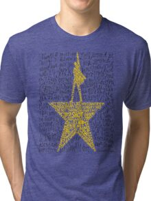 Hamilton Musical Quote Tri-blend T-Shirt
