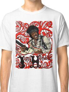 Jimi Hendrix no background Classic T-Shirt