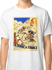THE TOUR DE FRANCE; Vintage Bike Racing  Classic T-Shirt