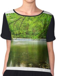 The Olde Mill Weir Chiffon Top