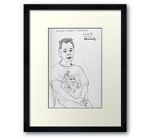 World Class Person Framed Print