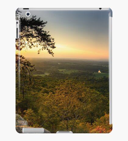 Sunset panorama on Georgia Mountains iPad Case/Skin