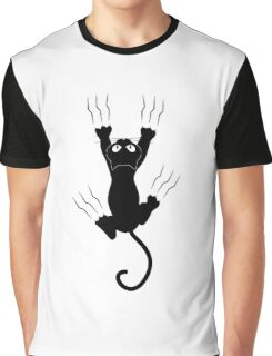Hanging cat Graphic T-Shirt