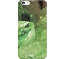 Green Glitter (Apophyllite) iPhone Case/Skin