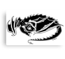 sleeping dragon Canvas Print