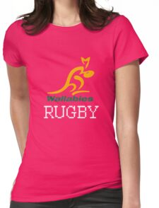 Rugby club Wallbies Womens Fitted T-Shirt