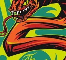 Striker - The Serpent Of Stealth Sticker