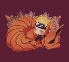 Sleeping Naruto by AsunaYuuki