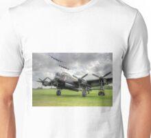 3 Lancasters - East Kirkby Flypast Unisex T-Shirt