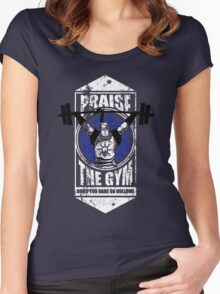 Praise The GYM Women's Fitted Scoop T-Shirt