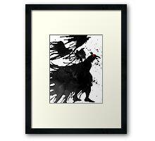Ravens Call Framed Print