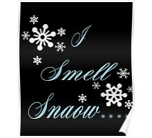 I Smell Snow Poster