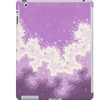 Lavender Chevron Pride Flag Galaxy iPad Case/Skin