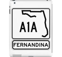 A1A - Fernandina Beach, Florida iPad Case/Skin
