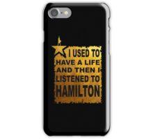 Hamilton The Musical iPhone Case/Skin