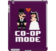Co-op Mode - Newly Wed Gamer Couple iPad Case/Skin