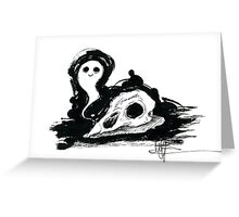 Little ghost Greeting Card