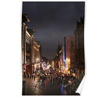 Buchanan Street, Glasgow Poster