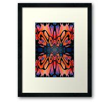 Sunrise Psychedelic Framed Print