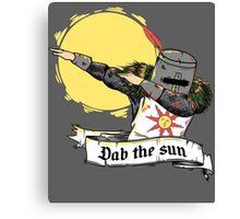 DAB the sun Canvas Print