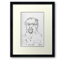 Self Portrait 99 Framed Print
