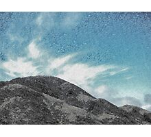 The Etched Mountains  Photographic Print