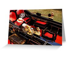 Impressions Of Venice - Reserve Your Gondola Greeting Card