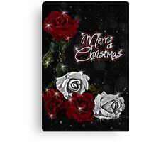 Roses for Christmas Canvas Print