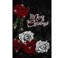 Roses for Christmas Photographic Print