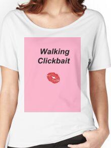 Walking Clickbait Women's Relaxed Fit T-Shirt