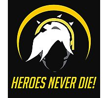 OVERWATCH HEROES NEVER DIE Photographic Print