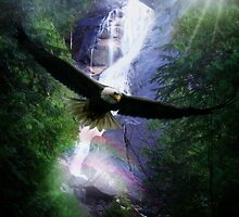 Shannon Falls by Cliff Vestergaard
