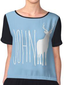 John Deer Chiffon Top