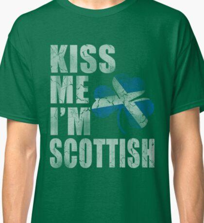 Kiss Me Im Scottish  Classic T-Shirt