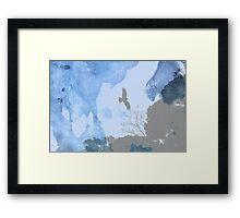 Yokosuka - Hawk In Flight 1 Framed Print