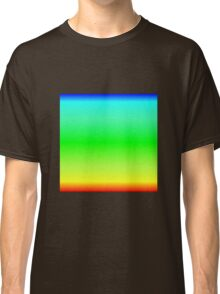 Color Gradient - Red | Yellow | Green | Cyan | Blue Classic T-Shirt