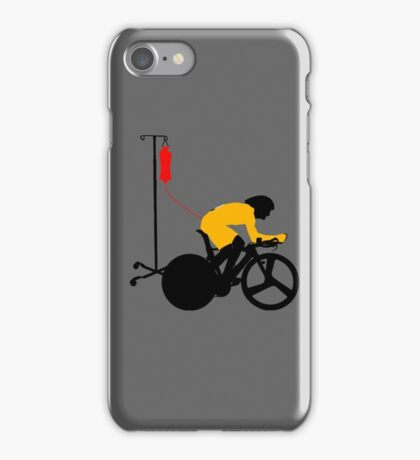 Cyclist Blood Doping iPhone Case/Skin