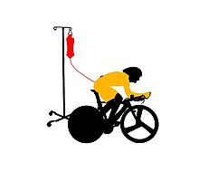 Cyclist Blood Doping Photographic Print