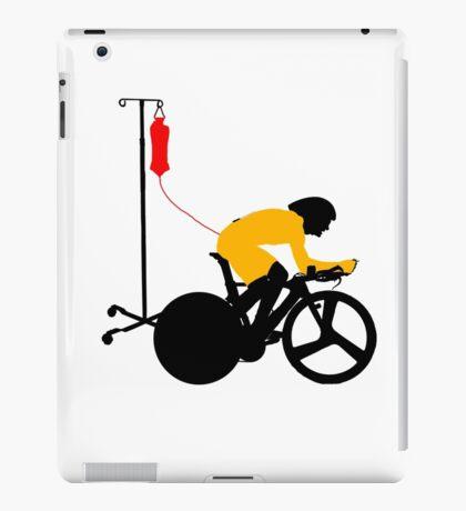 Cyclist Blood Doping iPad Case/Skin