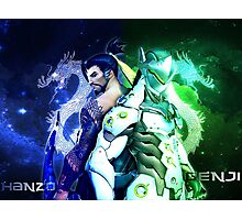 OVERWATCH GENJI HANZO Photographic Print