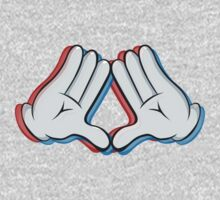 Stereoscopic swag hand by BluePixel