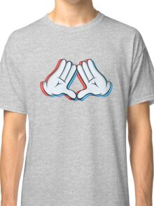 Stereoscopic swag hand Classic T-Shirt