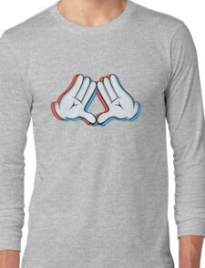 Stereoscopic swag hand Long Sleeve T-Shirt