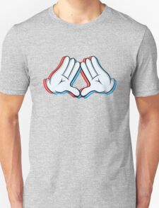 Stereoscopic swag hand T-Shirt