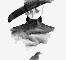 shinee jonghyun - crow by Helen W