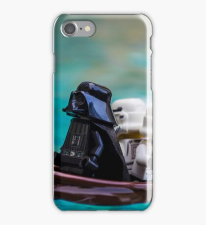 When the Imperial Star Destroyer Malfunctions iPhone Case/Skin
